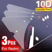 Защитное стекло для Xiaomi Redmi Note 8 9 Pro Max 9S, закаленное защитное стекло для экрана Redmi Note 7, 6, 5, 9 Pro, 3 шт.