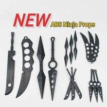 อะนิเมะคอสเพลย์ Ninja Props Akatsuki Kakashi 11ซม.22ซม.Kunai Shuriken Decapitated มีดมังกรใบมีดคู่ Asma มีดขายส่ง