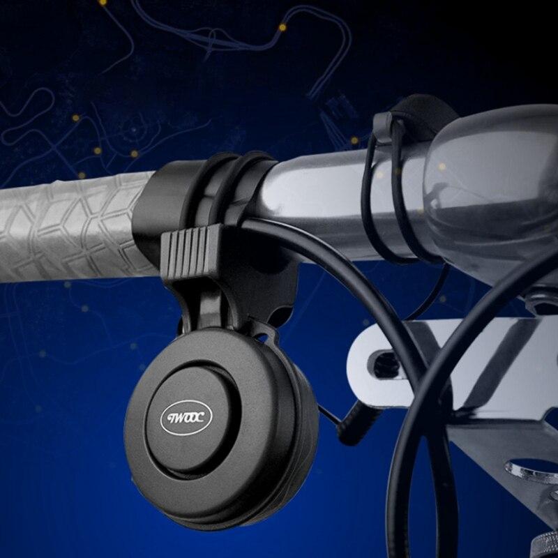 Bocina eléctrica de ciclismo 120 dB USB recargable a prueba de agua manillar MTB Carretera bicicleta sonido alarma bicicleta campana ciclismo Accesorios