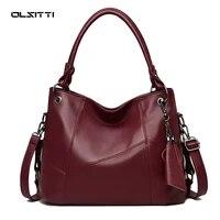 olsitti luxury pu leather shoulder bags tassel large capacity handbags women bags crossbody bags for women 2020 handbag bag