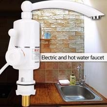 Robinet chauffe-eau électrique instantané   Pour la salle de bain, douche, faible puissance, haute efficacité