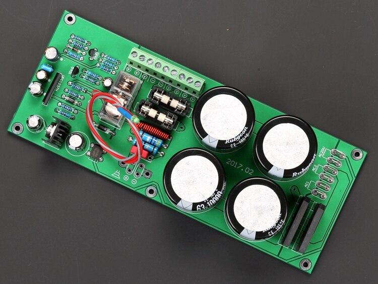 Retificador + Mono Placa de Proteção Incluem o 4 Filtro Altofalante Grande Capacitância