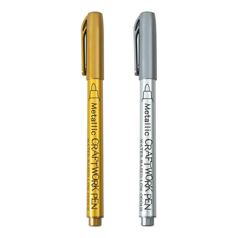 12 шт., эпоксидная смола, ручка для рисования, граффити, точечная ручка, акриловая краска, металлический маркер X6HE