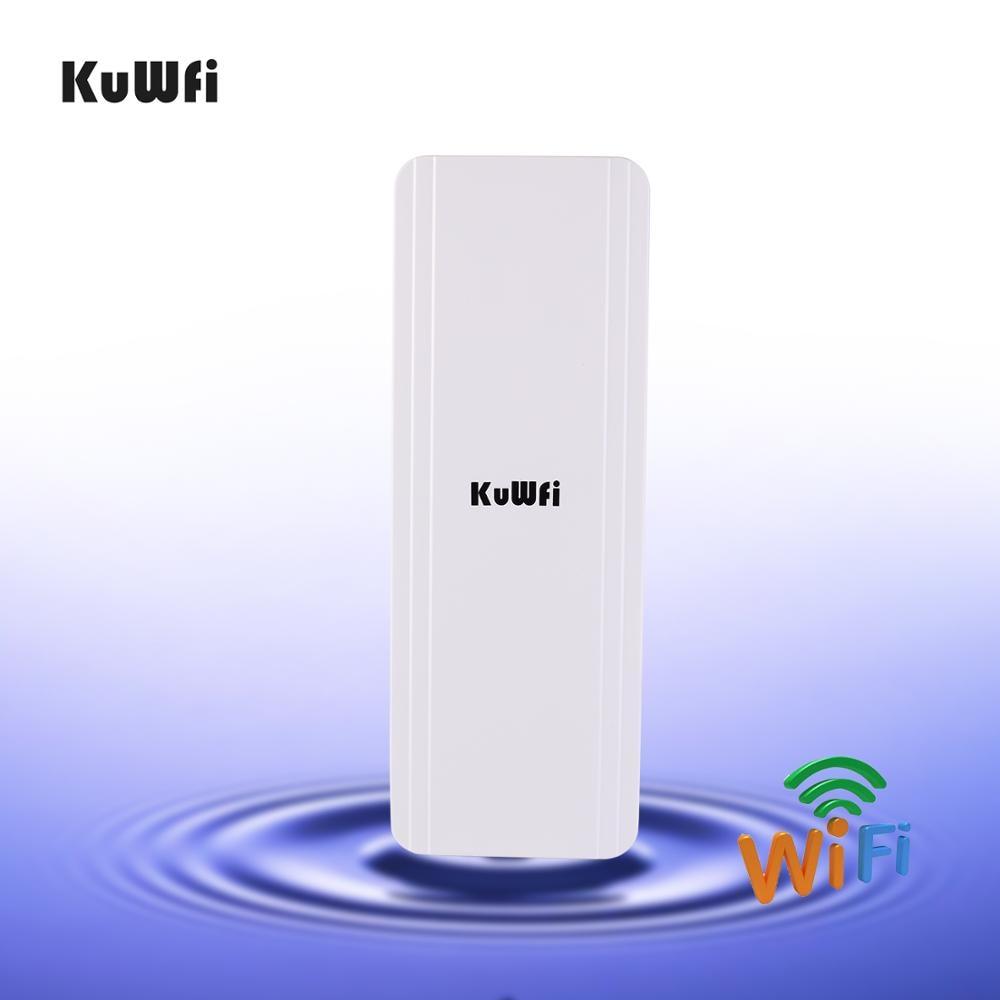 kuwfi roteador sem fio cpe outdoor wi fi 300mbps 58g 3km ponte repetidor de wi fi