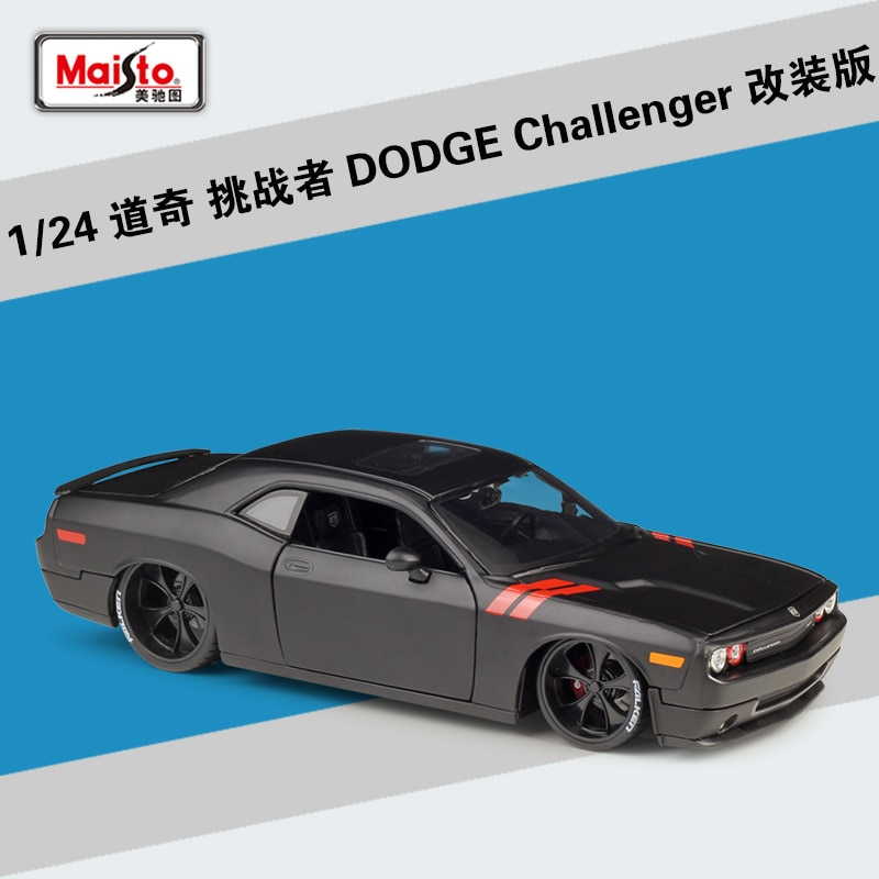 Maisto diecast 124 1970 2008 challenger 2013 srt viper gts 1967 mustang gt 1965 el camino versão modificada liga modelo carro