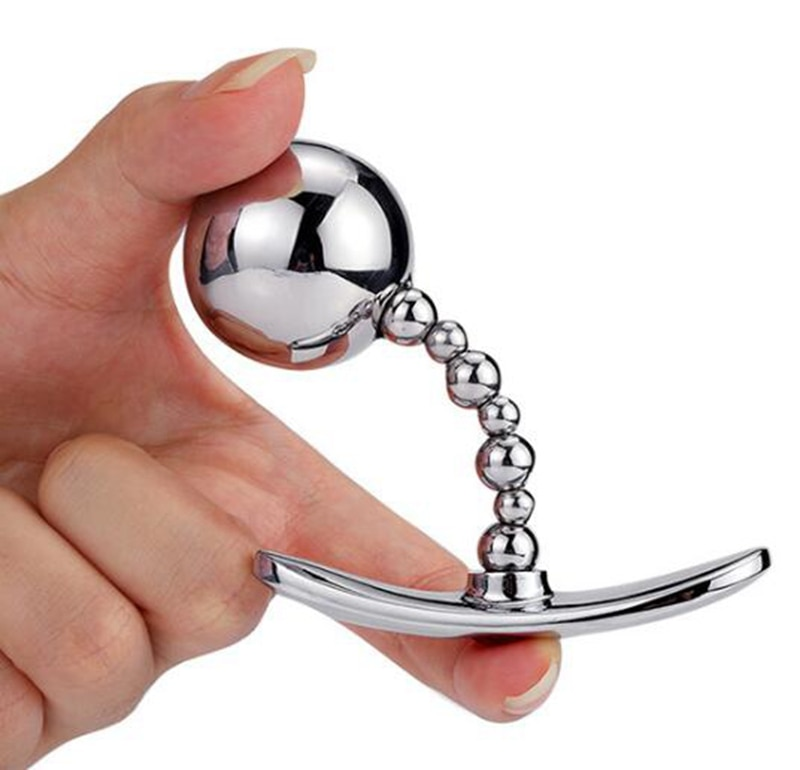 Металлический анальная пробка анальные шарики анальный силиконовый расширитель секс-игрушки маленький средний большой анальный штекер одежда для улицы Эротические товары для взрослых для женщин и мужчин