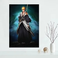 Affiche de peinture sur toile personnalisee de haute qualite  tissu en soie  affiche dart mural pour decoration de maison a la mode