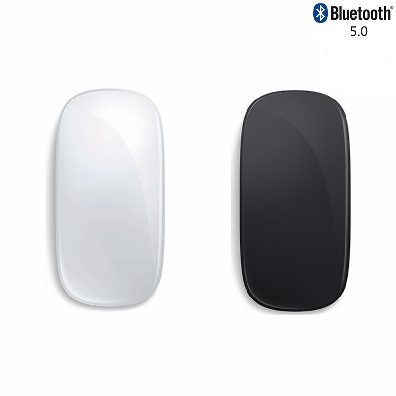 Беспроводная Бесшумная Bluetooth Мышь Arc Touch, перезаряжаемая лазерная мышь для компьютера Mause, ультратонкая белая Волшебная мышь 2 для Apple microsoft