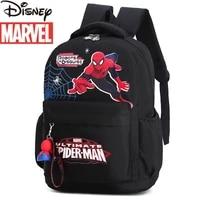 disney 2021 new marvel spider man childrens school bag cartoon nylon large capacity multifunctional practical boy backpack