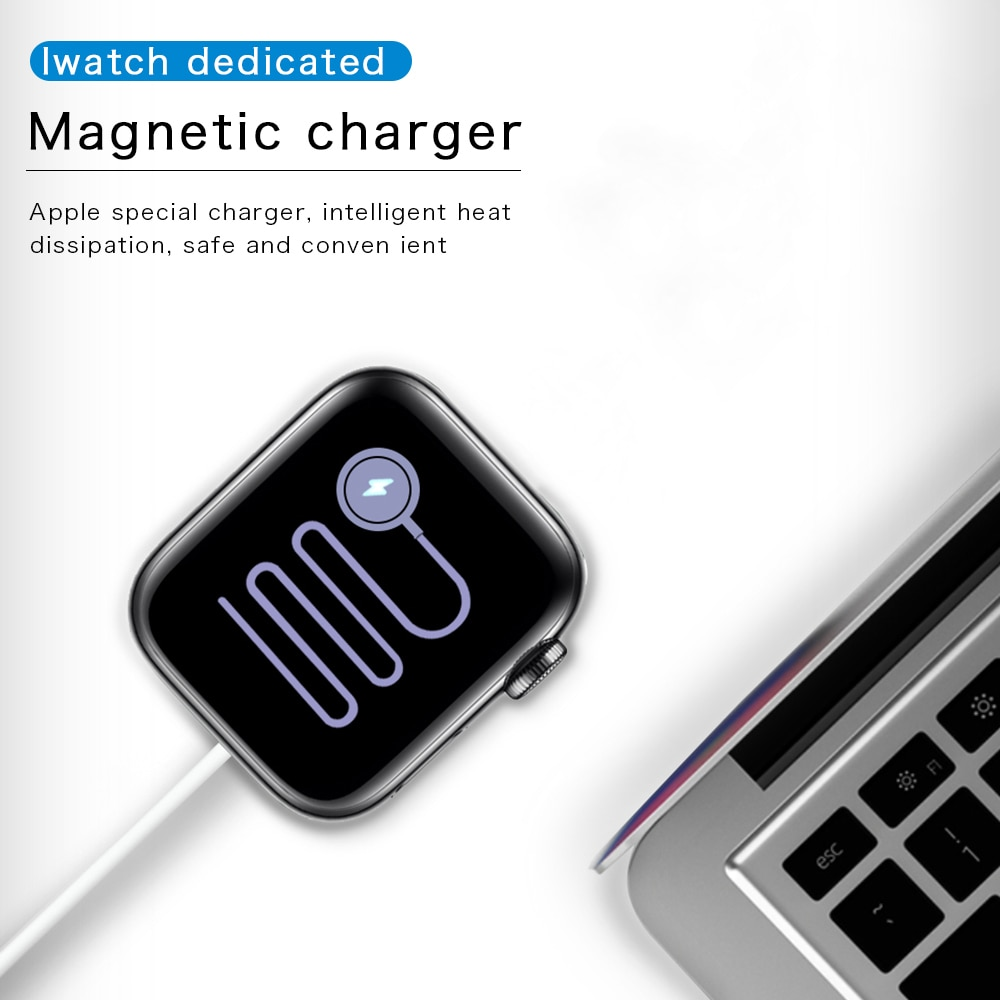 Magnetic Wireless Fast Charger Stand for Apple Watch 6 SE 5 4 Dock Charging Cable For iWatch Series 3 2 1 Applewatch accessories