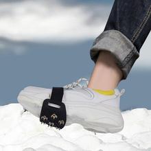 7 Crampons anti-dérapant glace neige chaussure poignées escalade Crampons botte couverture pour escalade marche glace neige chaussure pointes 1 paire