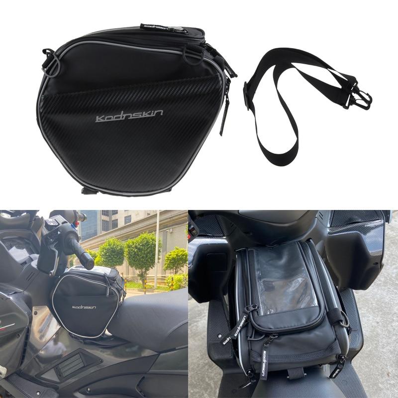 أكياس خزان للدراجة البخارية الهاتف المحمول الملاحة دراجة نارية خزان النفط حقيبة ل TMAX 530 C400X XMAX 300 400 250 C650GT C 600 Sport PCX150 AK550 NMAX