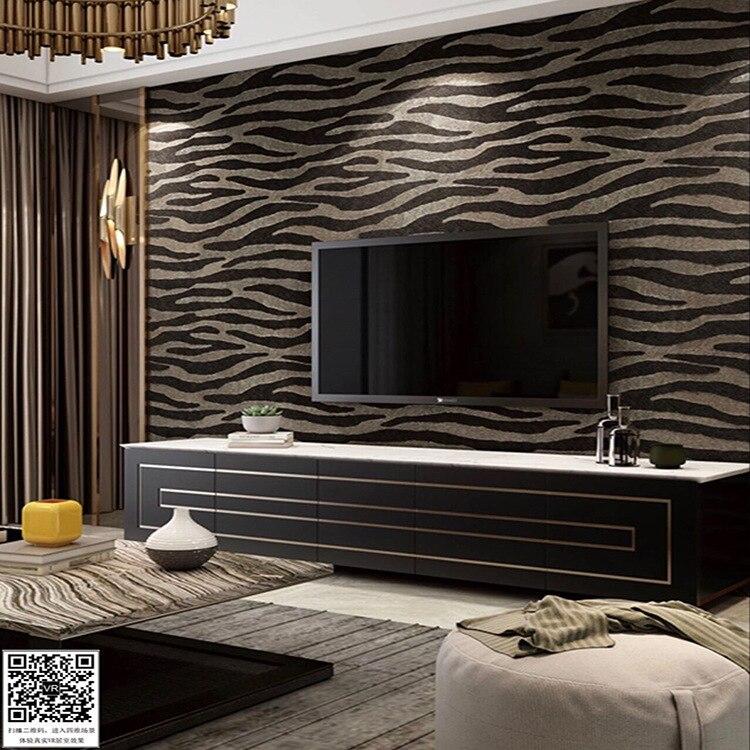 ورق حائط مخملي ثلاثي الأبعاد على الطراز الاسكندنافي الحديث والبسيط لغرفة المعيشة وغرفة النوم وخلفية التلفزيون