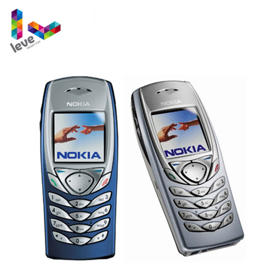 Nokia 6100 Unlocked Phone GSM 900/1800 Support Multi-Language Used and Refurbished Cell Phone Free Shipping