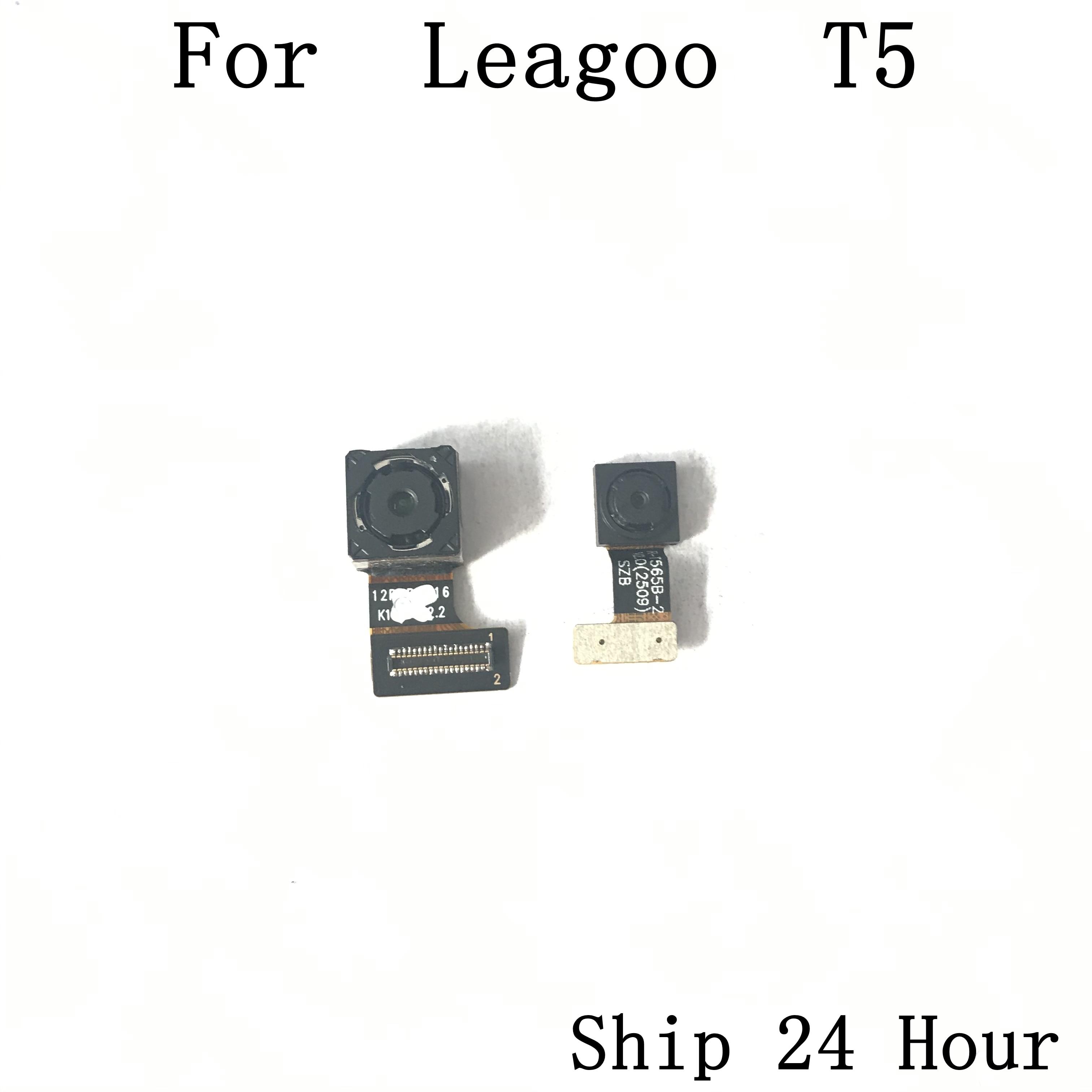 Leagoo T5 cámara trasera usada cámara trasera 13.0MP + 5.0MP módulo para Leagoo T5 reparación fijación pieza reemplazo envío gratis