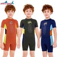 boy swimsuit childrens swimsuit boys jumpsuit short sleeved warm surf jacket swimsuit for boy