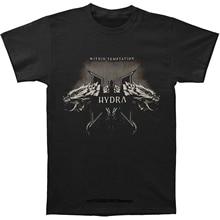 funny t shirts Fashion Within Temptation Logo Black Men T-Shirt S M L XL 2XL 3XL NEW