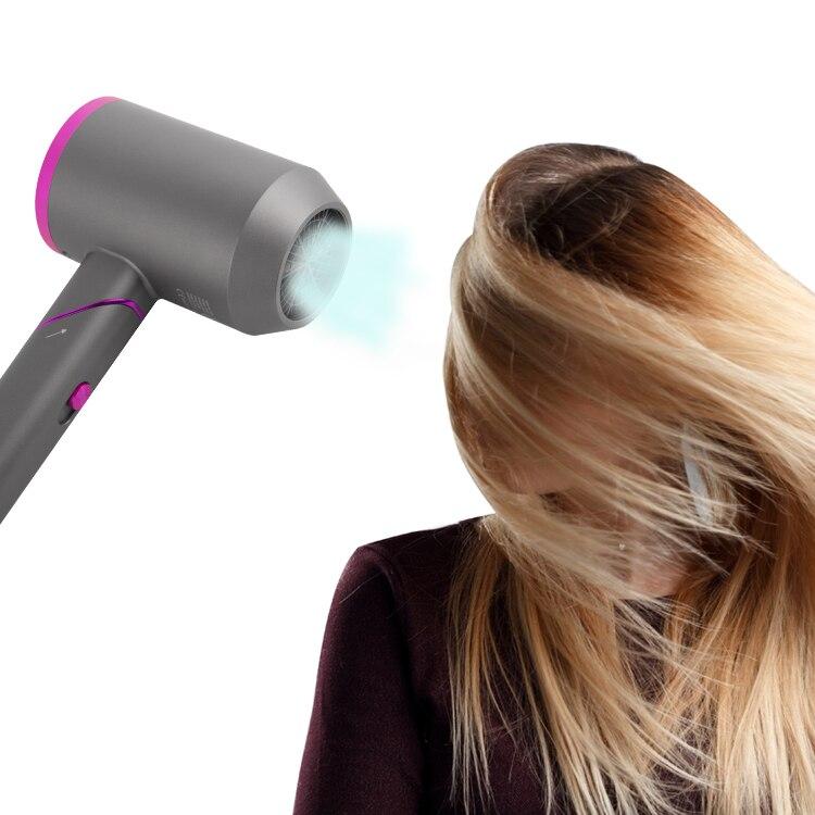 Cold Air Brush Hair Dryer Powerful Hair Dryer Salon Style Tool enlarge
