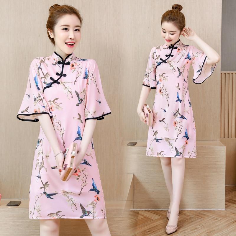 Мода 2021 плюс размер M-4XL женские Винтажные ботинки в китайском стиле розовый Qipao обувь для повседневной носки или вечеринки для женщин платье...
