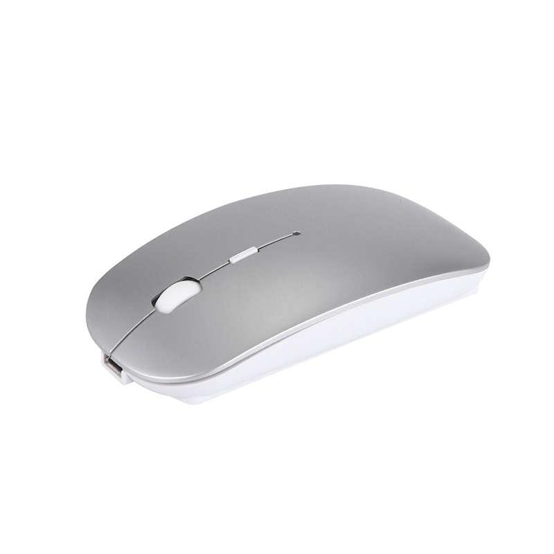 Recarregável Sem Fio Bluetooth 4.0 + Dual Mode 2.4G 2 Em 1 Carregamento Ergonômico Do Mouse 1600 Dpi Ultra-Fino portátil Mouses Ópticos F