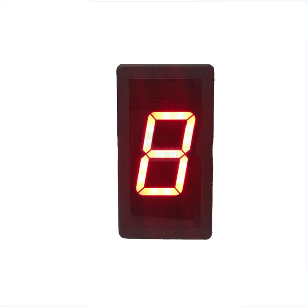 Taidacent RS485 Serial Digital LED meter Number Display Module PLC Communication MODBUS-RTU 1 Digit