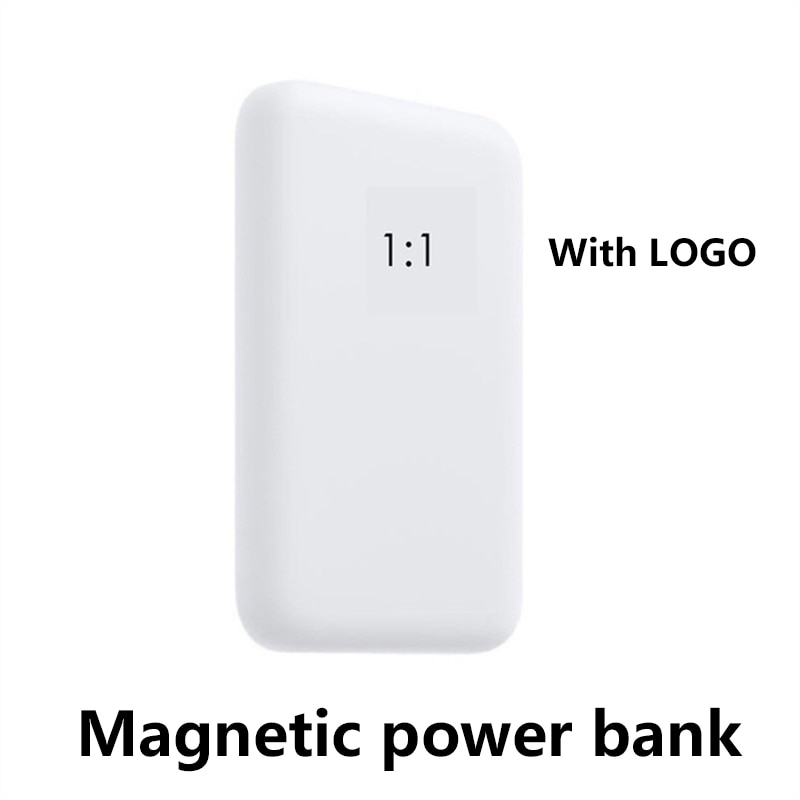1:1 Portable Magnetic Wireless Power Bank For iphone 13 12 13Pro 12Pro Max 5000mAh Mini Powerbank Mo