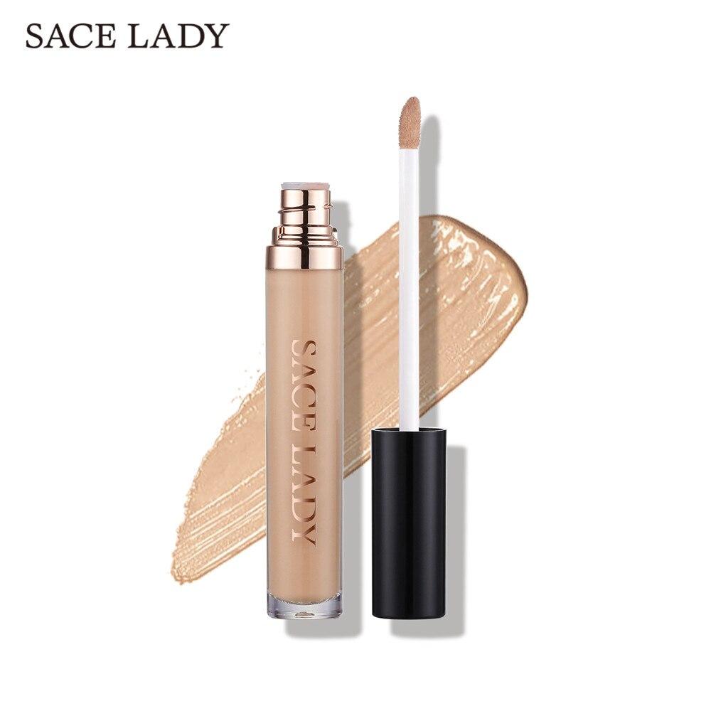 SACE LADY Full Cover Liquid Concealer Makeup For Face Eye Dark Circles Corrector Cream Make Up Facial Base Natural Cosmetic