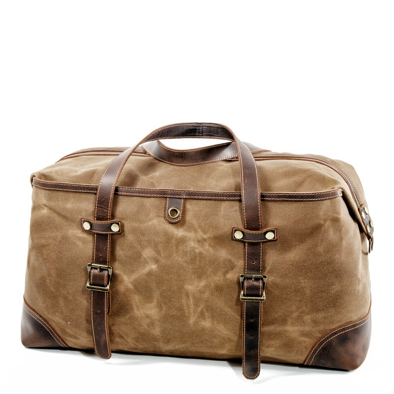 mens-waterproof-oil-wax-canvas-bags-overnight-travel-bags-large-capacity-luggage-wild-retro-shoulder-bag