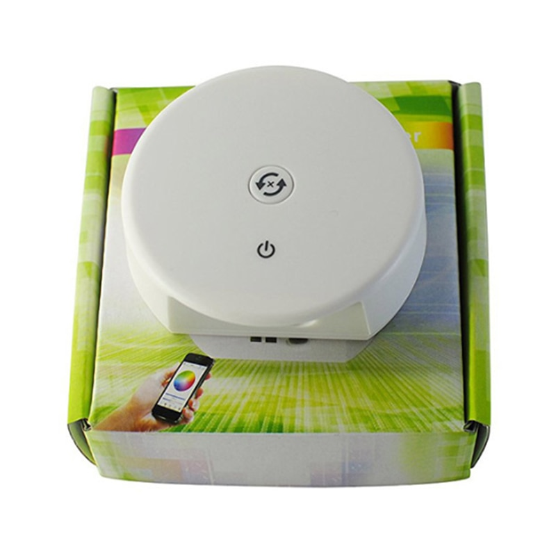 Controlador DC12V 24V Bluetooth RGB RGBWLED, función de sincronización, Control de grupo, modo de música, 16 millones de colores, 4,0 IOS/Android