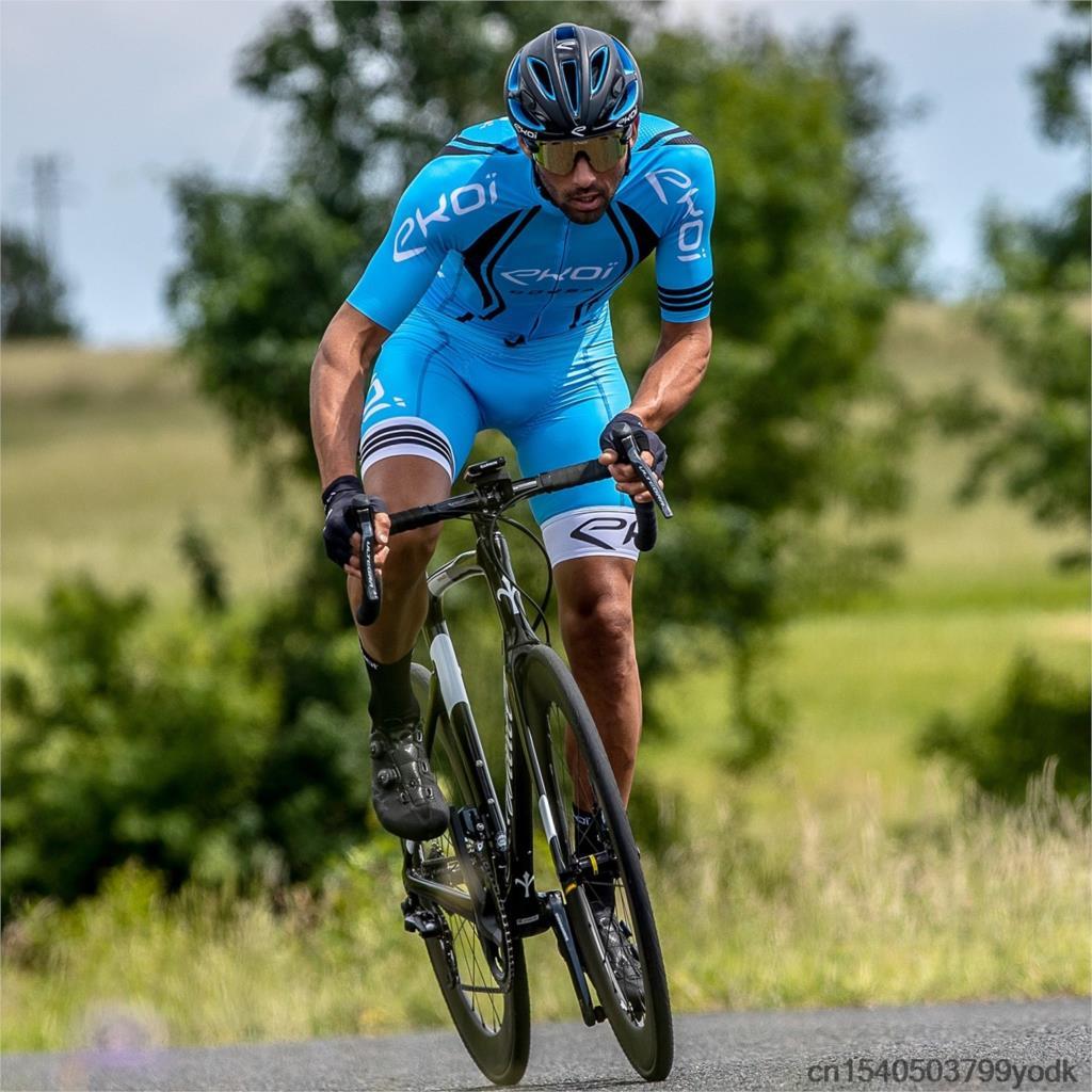 Ekoi camisa de ciclismo mtb camisa 2021 bicicleta equipe ciclismo camisas males manga curta bicicleta wear verão premium roupas
