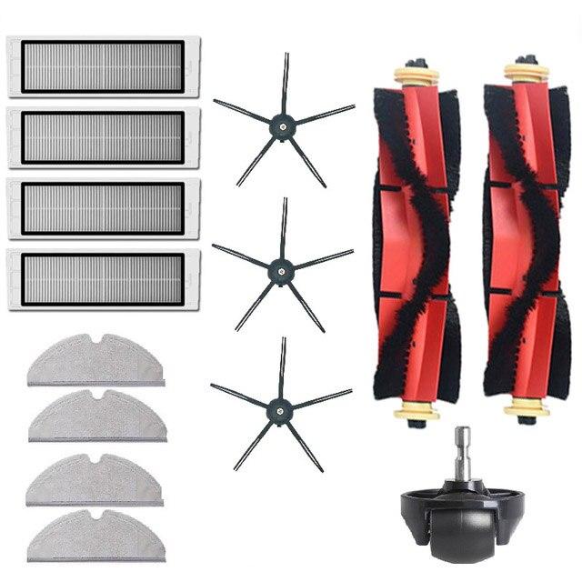 عالية الجودة القابلة للإزالة الرئيسية فرشاة قابل للغسل فلتر HEPA ل شاومي Roborock S6 S60 S65 S5 ماكس T6 Tanos تنظيف القماش قطع الغيار