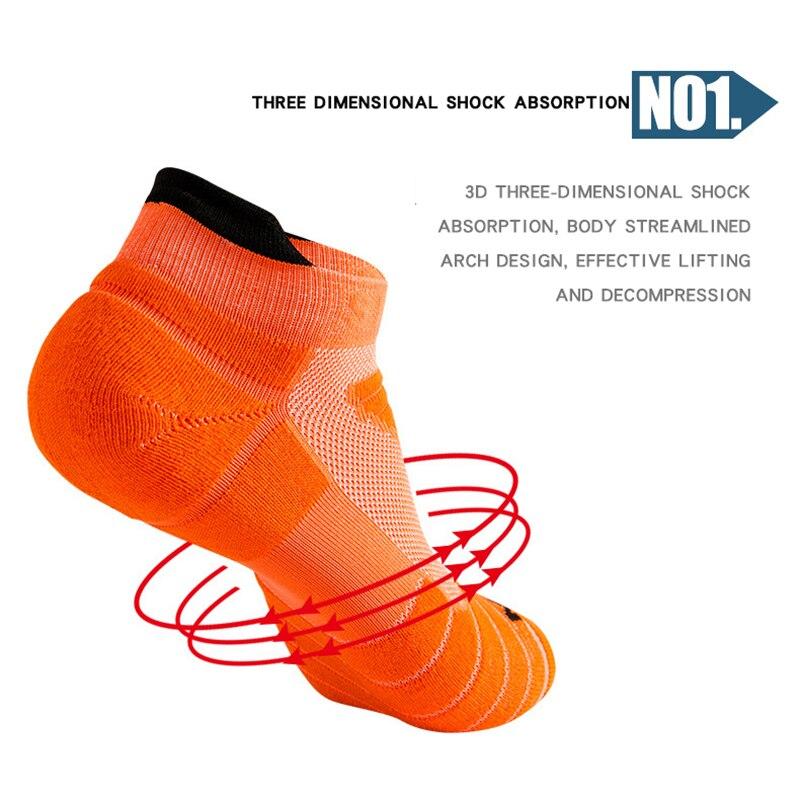Running Stockings Men Short Socks thick Sweat Sweat-Absorbent Outdoor Sports Walking Stockings Baske