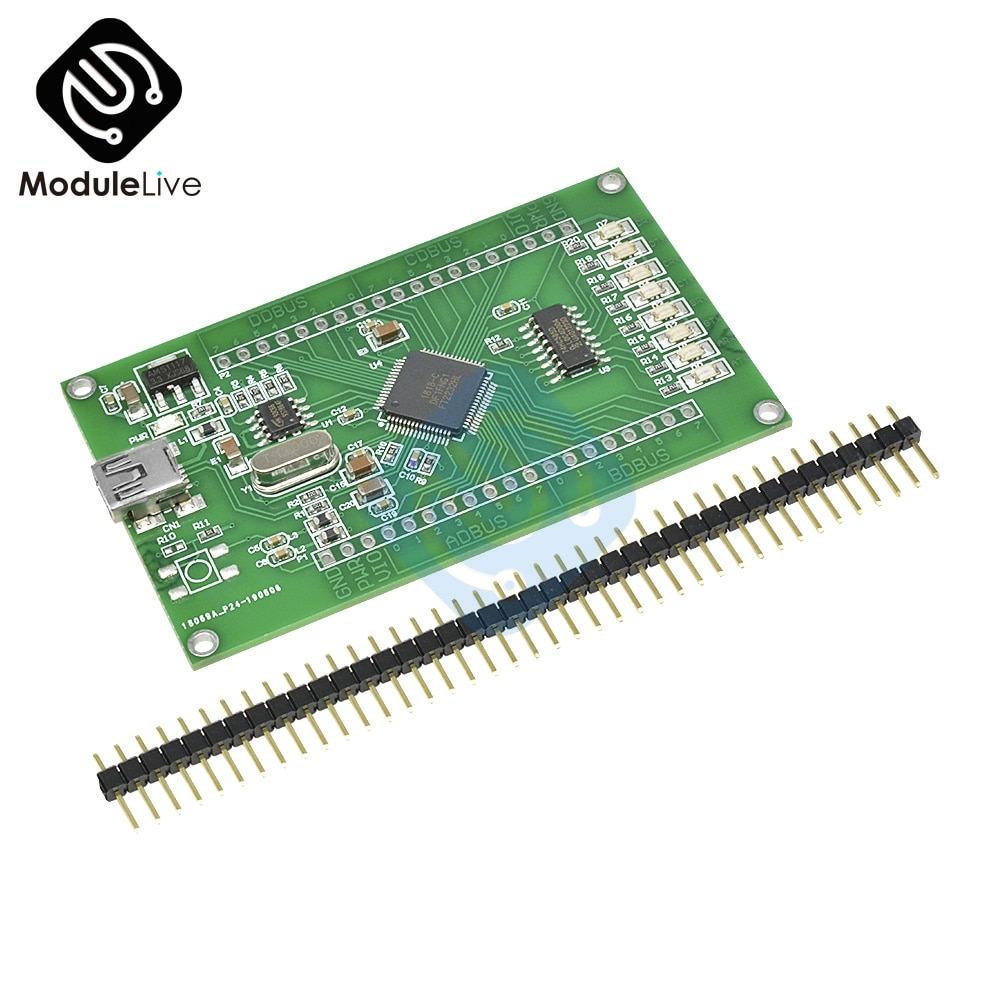 FT2232HL tablero de aprendizaje FT2232H MINI FT4232H UM232H Módulo de placa de desarrollo USB a SPI herramientas de puerto de serie Dual