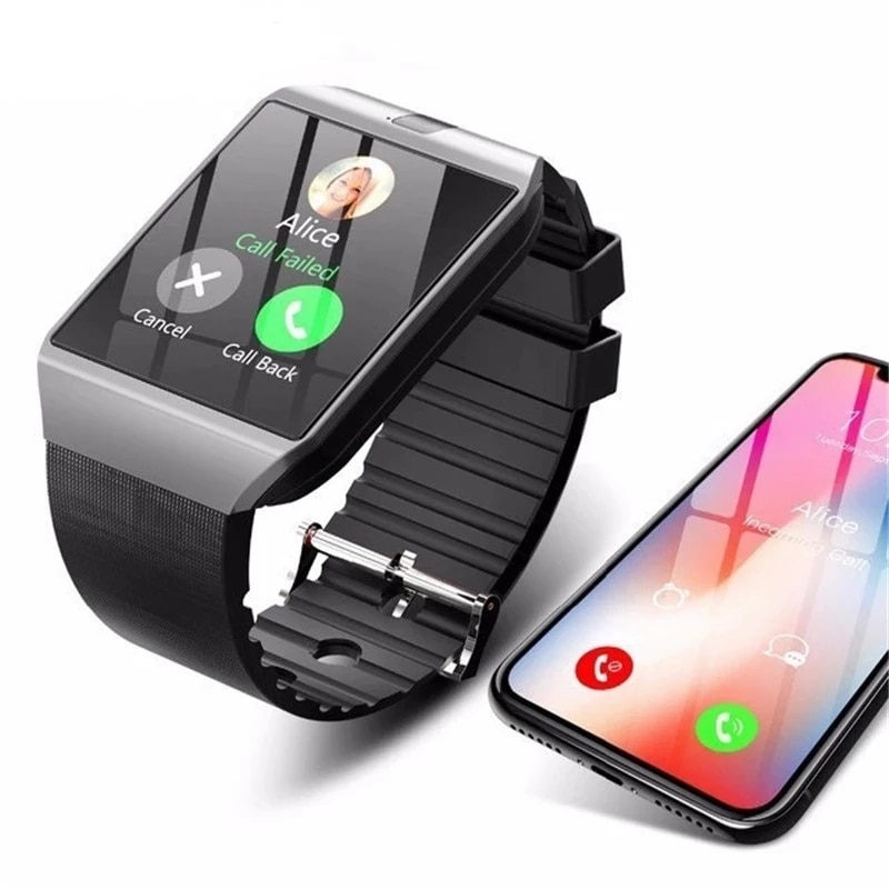 2020 Bluetooth Smart Watch DZ09 With Camera Sim TFCard SmartWatch Fitness Tracker For Android IOS Huawei Xiaomi Phone Watches