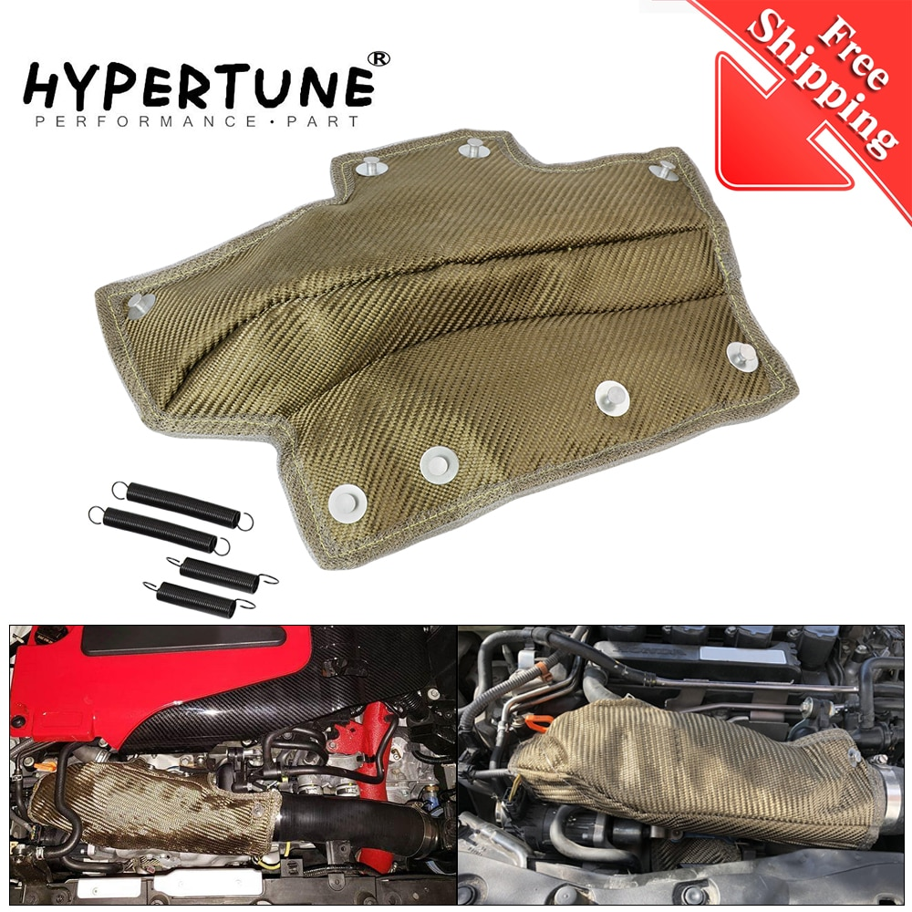 Manta de tubo de entrada de Lava envío gratis, turbocompresor, escudo térmico, Enfriador de admisión, resistencia térmica a altas temperaturas para Honda Civic 1,5 T