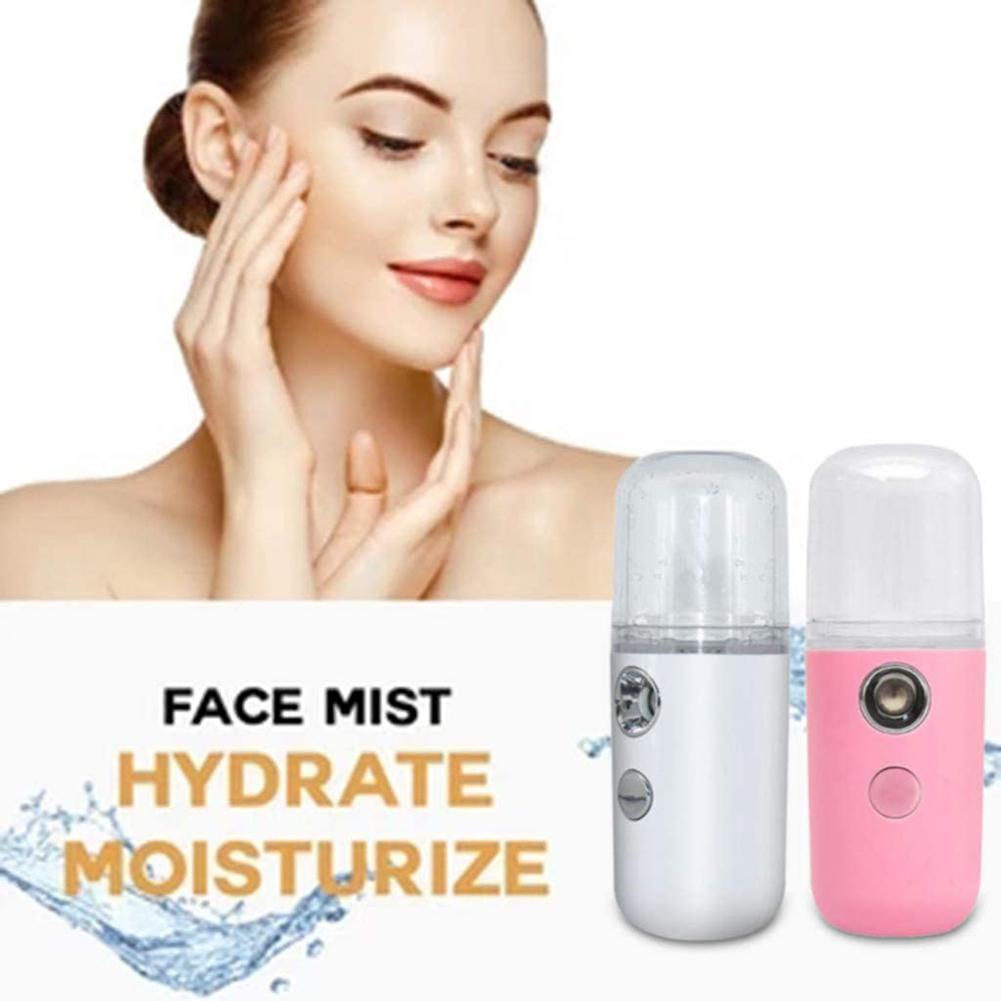 Spray de mano de 30ml, Spray Facial portátil Nano, vaporizador hidratante para el cuidado de la piel, instrumentos humidificador
