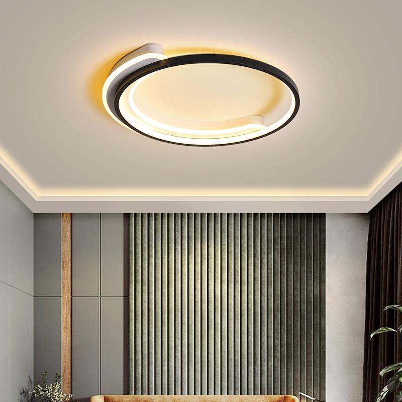 Lámpara moderna para sala de estar, luz led para techo, led de...