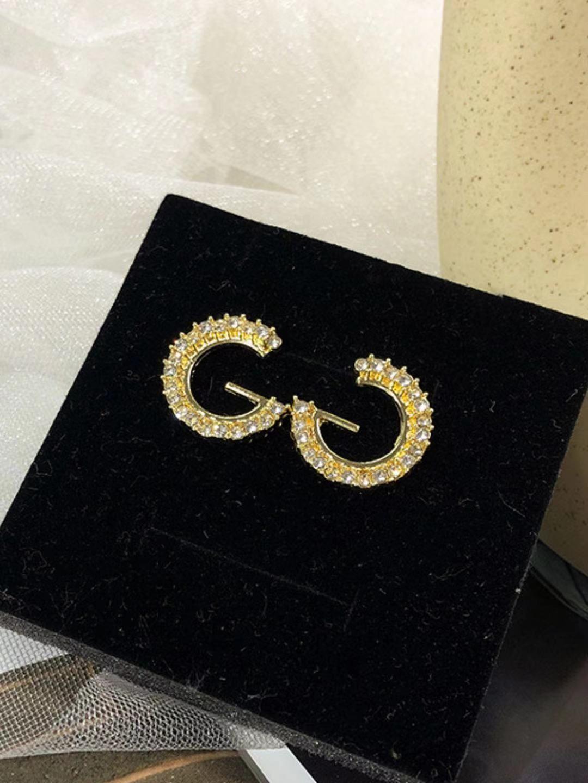 JP17 جديد العصرية إلكتروني الأذن مجوهرات بسيطة ورائعة الكورية المرأة الصغيرة الراقية أقراط S925 الفضة الإبر وأقراط