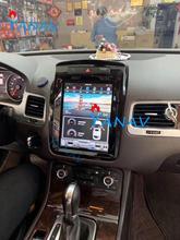 Voiture GPS Navigation pour-Volkswagen-Touareg 2010-2017 voiture stéréo lecteur multimédia Tesla écran Vertical autoradio lecteur DVD