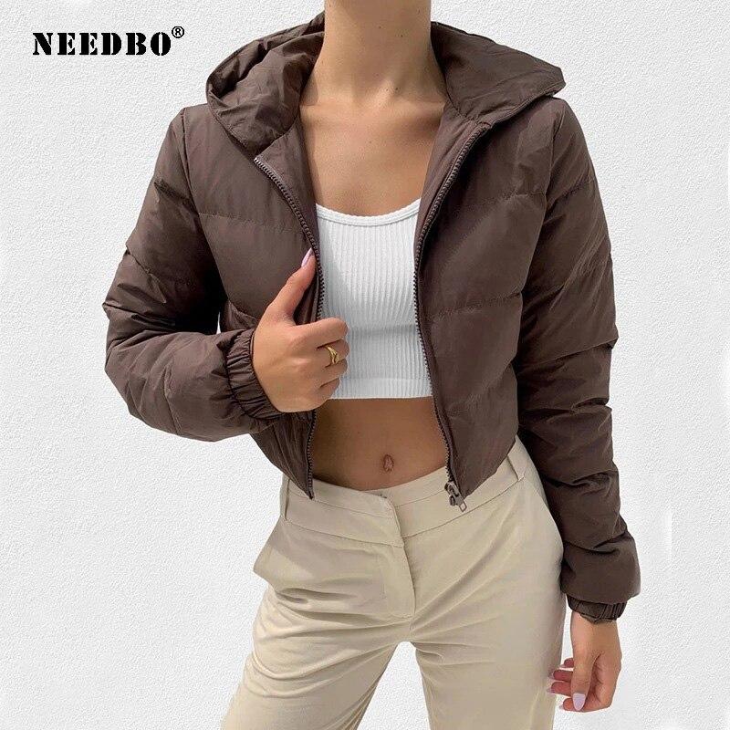 2021 зимняя куртка Женское пальто с капюшоном хлопковая куртка зимняя женская куртка-пуховик женское Элегантное повседневное теплое Casaco Parka ...