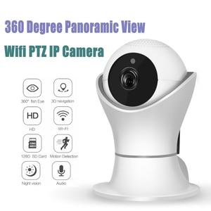 Proker EC39 360 degree Rotation PTZ Wifi IP Camera 1080P Wireless Network Home Security CCTV Camera 360eye video baby monitor