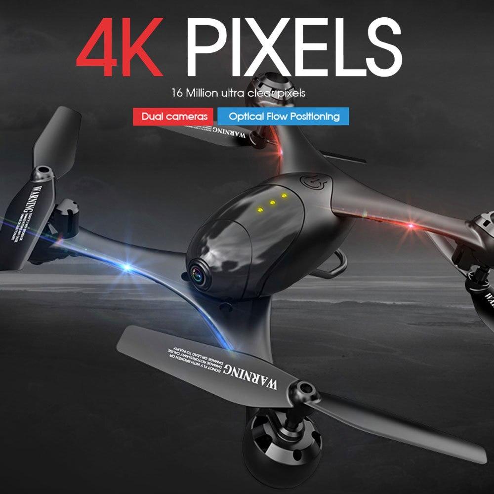KF600 LM06 Drone 4K/1080P Wifi FPV Dual Kamera Optischen Fluss Positionierung Gesture Control Höhe Halten Quadcopter vs SG106 PM9