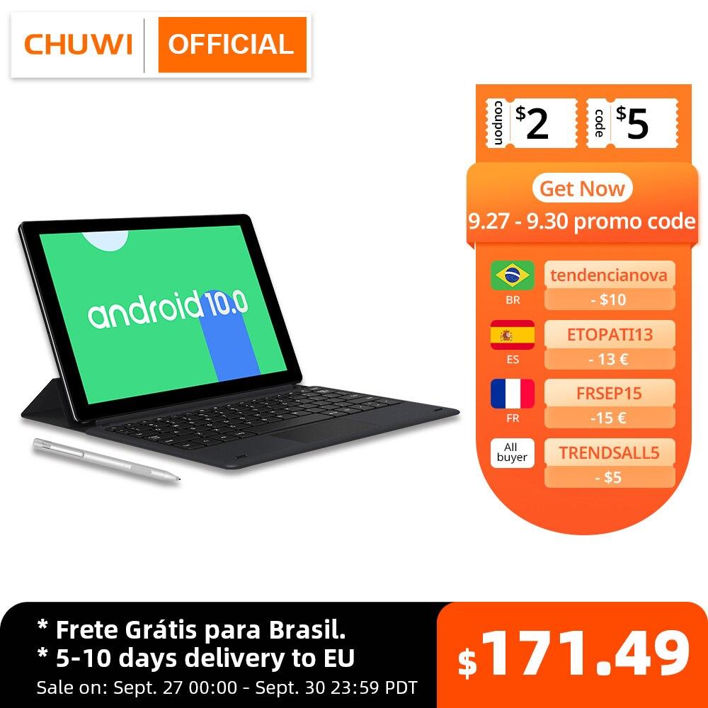 CHUWI HiPad X 10.1 بوصة أندرويد 10 اللوحي MTK ثماني النواة LPDDR4X 4GB RAM 128G ROM اللوحي 4G LTE لتحديد المواقع