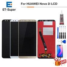 Pour Huawei Nova 2i Lcd écran tactile numériseur pour Huawei Nova 2i LCD avec cadre RNE L01 L02 L03 L21 L22 L23 remplacement