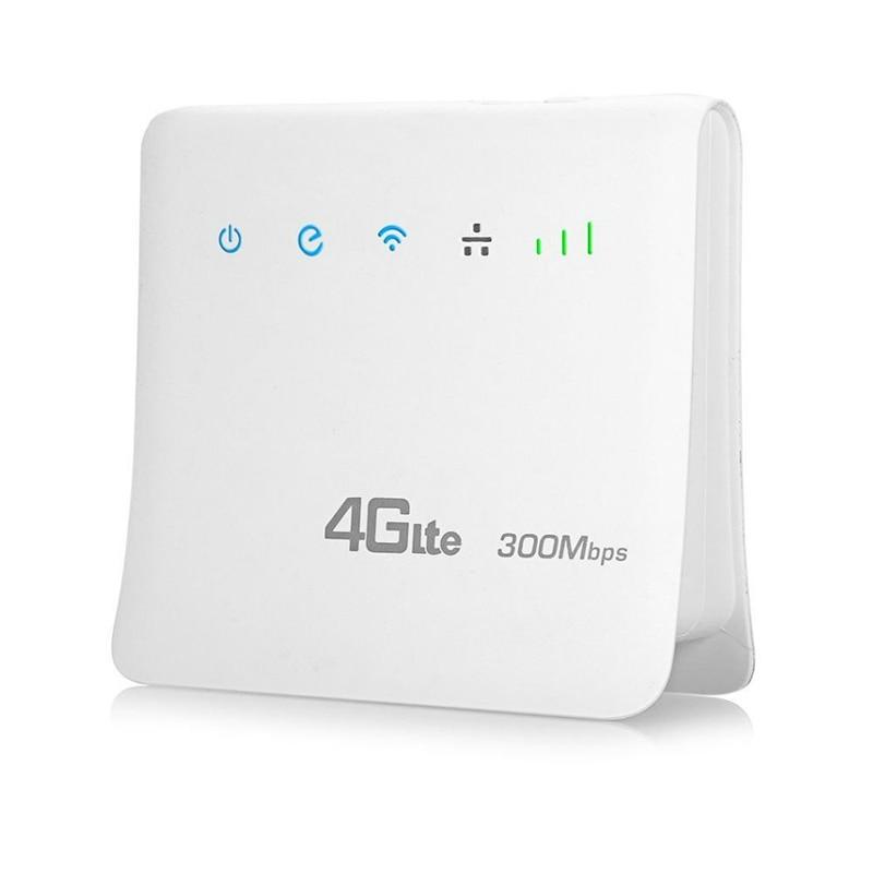 Débloqué 300Mbps Wifi routeurs 4G lte cpe routeur Mobile avec prise en charge du Port LAN carte SIM Portable sans fil routeur wifi 4G routeur