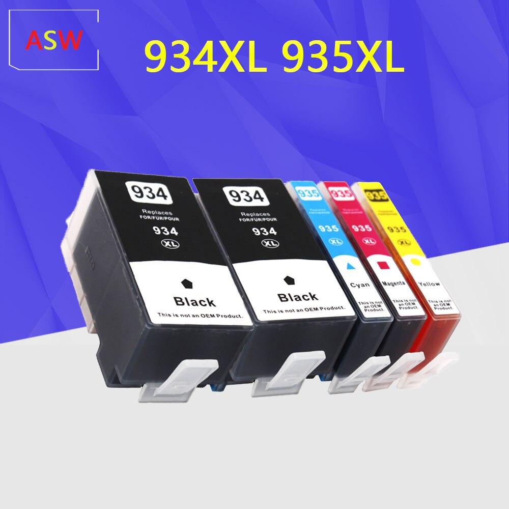 Para hp 934XL hp 935XL cartuchos de tinta 934XL 935XL 934, 935 para hp 934 para hp Officejet Pro 6812, 6830, 6815, 6835, 6230, 6820 impresora