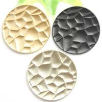 100 pcs 2021 new special shaped metal buttons high end non fading coat windbreaker fashion buttons black gold and silver 35mm