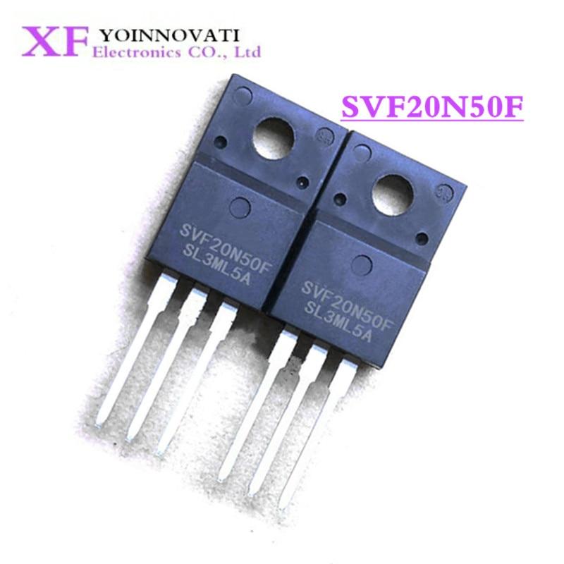 10 unids/lote SVF20N50F 20NF50 20N50F TO-220F mejor calidad IC