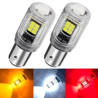 2pcs 1156 ba15s p21w s25 7506 bau15s py21w 1157 led bulbs 16pcs 2835smd super bright 900lm replace for car reversing light white