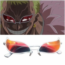 Donquixote Doflamingo Cosplay Glasses Anime PVC Sunglasses Funny Christmas Gift